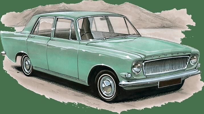 Ford Zephyr Mk3